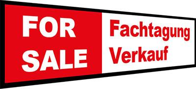 FOR SALE Fachtagung Verkauf